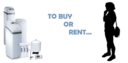 To Buy or Rent Water Treatment Equipment…?        That is the QUESTION.